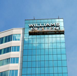 Williams Mullen is expanding into new territory.