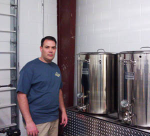 Trae Cairns of Midnight Brewery