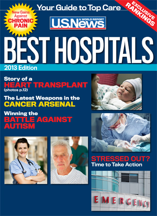Best hospitals U.S. News cover