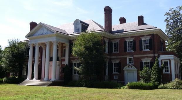 Justin French mansion