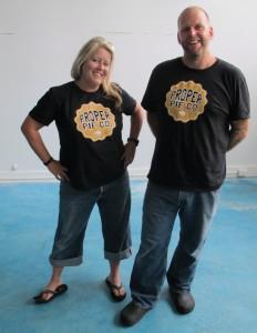 Proper Pie owners Neil Smith and Nikki Price
