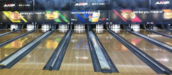 AMF Sunset Bowling lanes