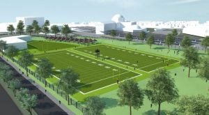 Redskins training camp rendering