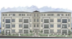 A rendering of the Tiber condos planned for 510 Libbie Ave. (Courtesy of