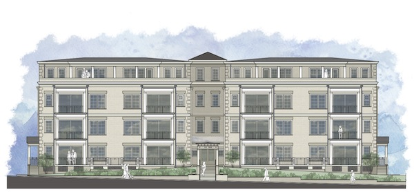 A rendering of the Tiber condos planned for 510 Libbie Ave. (Courtesy of SMSArchitects)