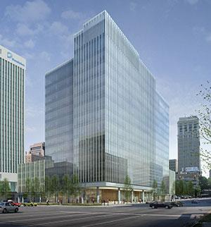 Gateway Plaza rendering
