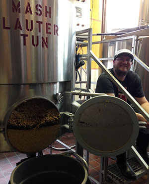 New Extra Billy's brewmaster Brandon Tolbert. (Courtesy of Brandon Tolbert)