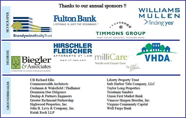 CREW sponsors