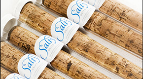 Cork golf putter grips by Salty Grips. (Photo courtesy of Salty Grips)