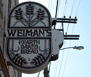 The Weiman's sign.
