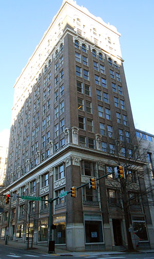 The 700 Centre at 700 East Franklin Street. (Photo by David Larter)