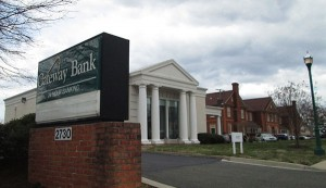 The former Gateway Bank branch at 2730 Buford Road. (Photo by Michael Schwartz)
