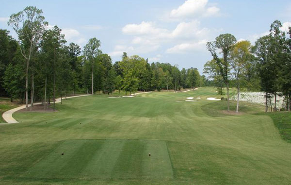 The Club at Viniterra, a 225-acre course in New Kent County. (Courtesy of the Club at Viniterra)