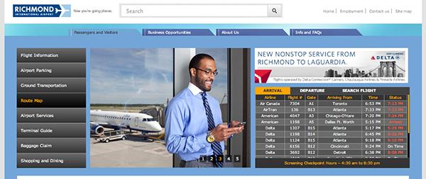 Airport-website