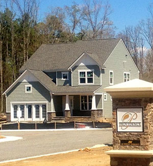 A model home at the planned Providence development in Ashland. (Courtesy of HHHunt)