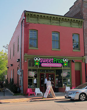 Sweet Frog's shop at 815 W. Cary St.