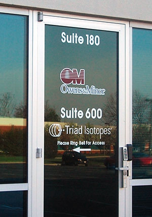 Triad Isotopes has a new office at 8751 Park Central Drive.