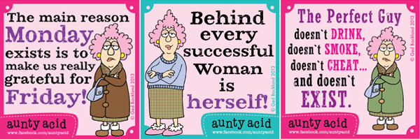 Eastwood Media is working on a pilot based on the character of Aunty Acid.