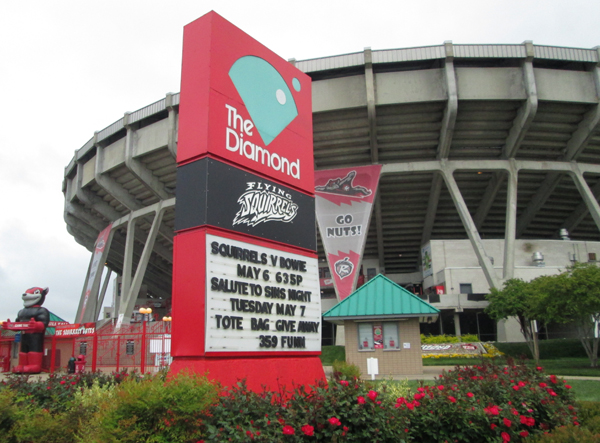 Will the Squirrels finally get a chance to move out of the Diamond?