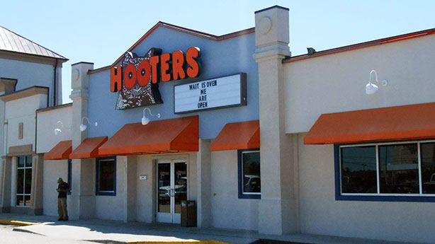 The Hooters at 2401 West Hundred Road. (Photo by David Larter)