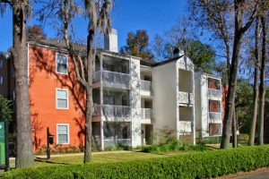 The 102-unit Ashford Club Apartments in Tallahassee. (Courtesy of Capital Square)