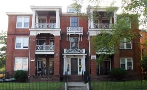 The Barton Avenue apartments.