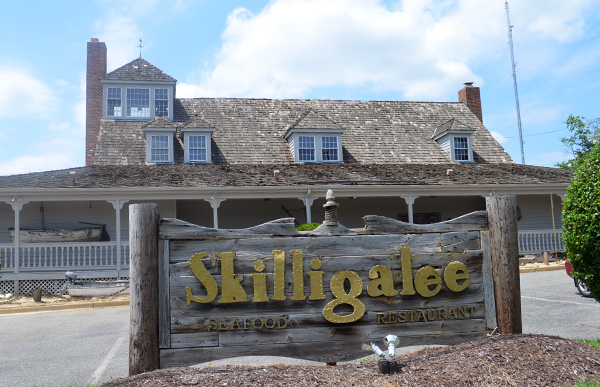 Skilligalee's longtime location at 5416 Glenside Dr. (Photo by Mark Robinson)