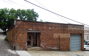 The brewery's Foushee Street space.