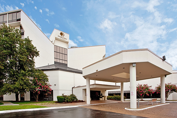 The new look for the hotel at at 1021 Koger Center Blvd. (Courtesy of Doubletree by Hilton)