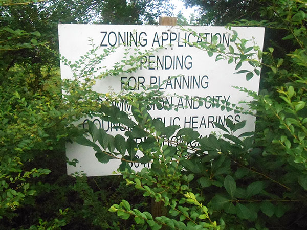 Archer Springs is planned as a 44-acre, 96-home Southside neighborhood. (Photos by Burl Rolett)