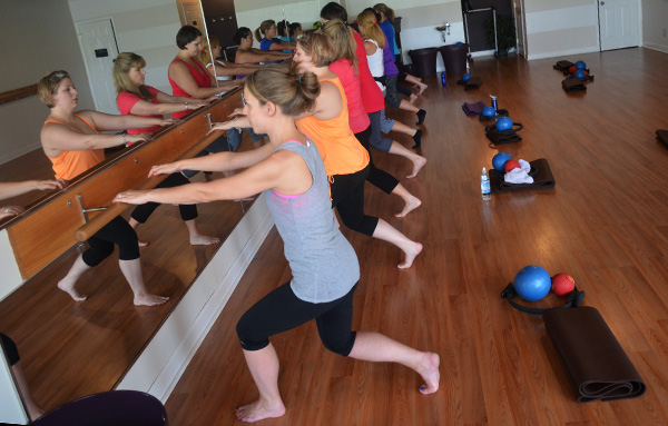 Fitness studio Corner Barre plans to open a second location. (Photos by Mark Robinson)