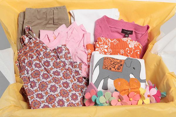 Online retailer Gandzee lets customers order coordinated wardrobes for children. (Photos courtesy of Gandzee)
