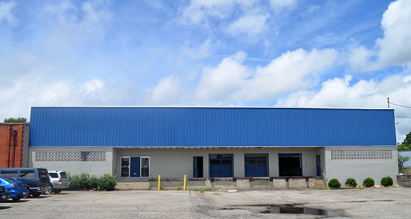 Need Supply Co.'s new warehouse at 1600 Belleville St. (Photo by Mark Robinson)