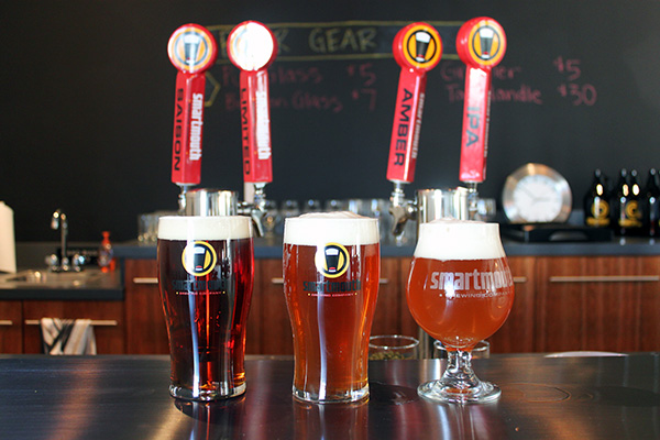 Smartmouth Brewing sold its first draft in October 2012. (Photo courtesy of Smartmouth Brewing)