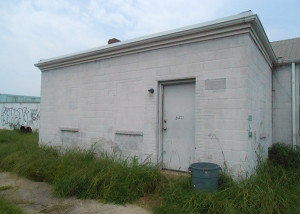 A small warehouse at 501 Decatur St.