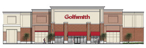 A rendering of the planned store.