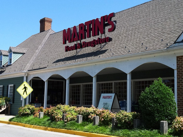 The 38,000-square-foot Martin's is set to close Oct. 26. (Photos by Michael Schwartz)
