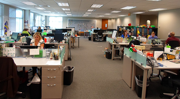 Inside the Comparenow office in Innsbrook. (Photos courtesy of Comparenow)