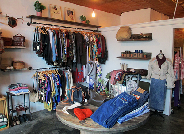 The 1,500-square-foot Addison Handmade & Vintage store. (Photos by Michael Thompson)