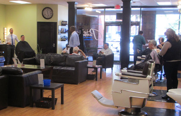 Inside the new Parkside Barber Shop & Grooming Lounge. (Photos by Michael Thompson)