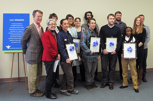 The 2013 SEED grant winners. (Photos by Michael Thompson)