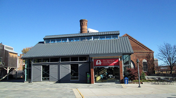 The current American Civil War Center building.