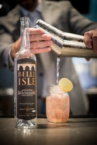 Belle Isle Moonshine (Photo courtesy of Belle Isle Craft Spirits)