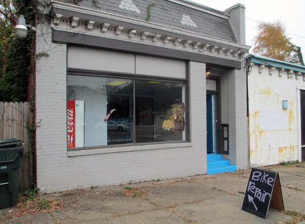 The new shop at 2225 E. Clay St.
