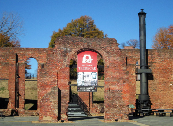 Historic Tredegar, the home of the American Civil War Center, will be the location of a museum combining the civil war center and the Museum of the Confederacy. (Photo by Brandy Brubaker)