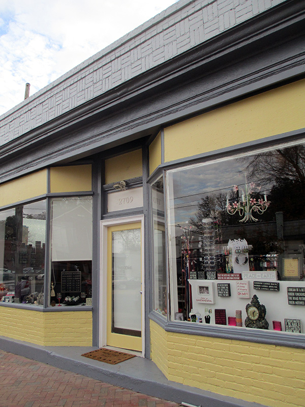 The storefront at 2709 E. Marshall St.