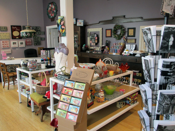 Inside the Loving Lemons gift shop. (Photos by Michael Thompson)