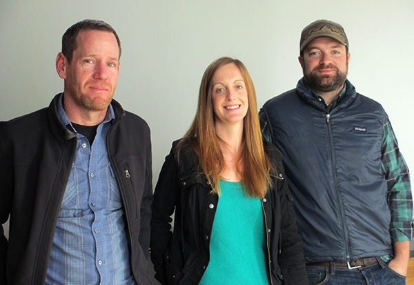 Union Market owners Shawn Tunstall, left, Gillian Field and Hunter Robertson. (Photos by Michael Thompson)