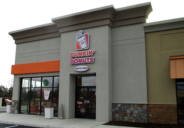 The new Dunkin' Donuts franchise at 11657 Lakeridge Parkway in Ashland. (Photo by Burl Rolett)
