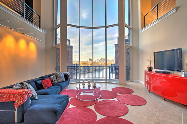 The 4,560-square-foot penthouse. (Photos courtesy of David Corey)